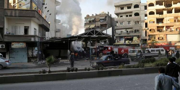 Au moins 20 morts dans un double attentat à Damas