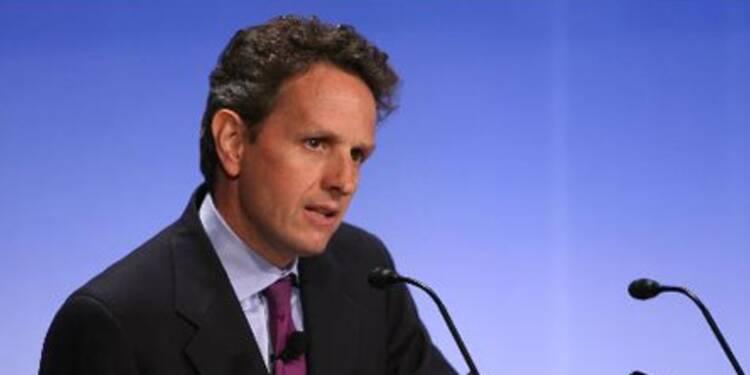 Léger rebond du CAC 40 après les déclarations de Geithner