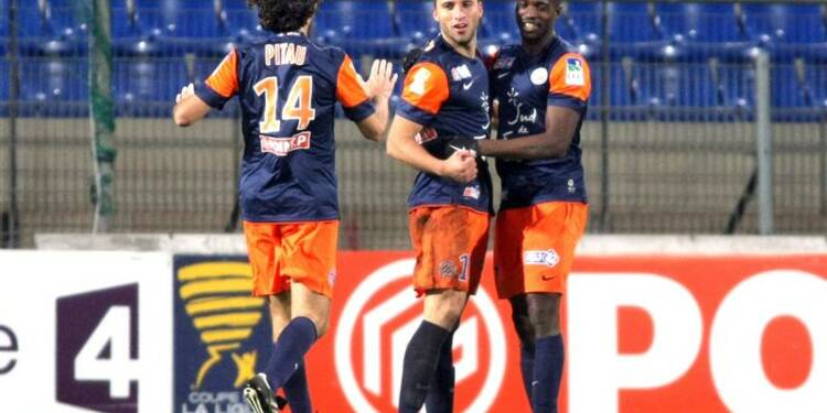 Coupe de la Ligue: Montpellier bat Nice et va en demi-finale