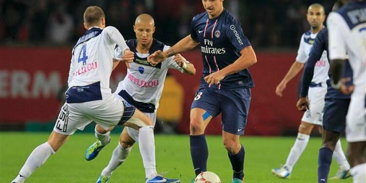 Ligue 1: le PSG à nouveau leader grâce au retour d'Ibrahimovic