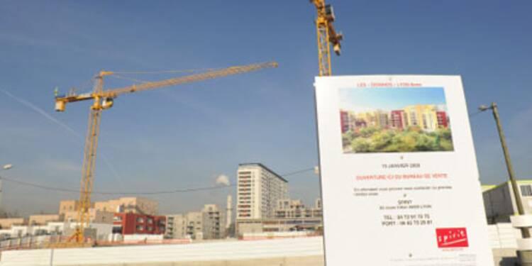 Près de 50.000 emplois menacés dans le secteur de la construction en 2009