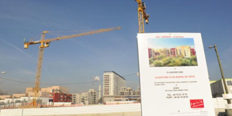Les mises en chantier de logements s'effondrent de 33% au premier trimestre
