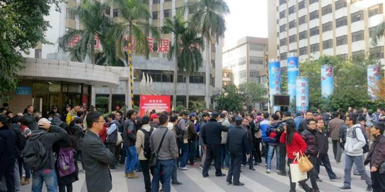 Rare manifestation contre la censure en Chine
