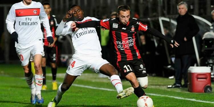 Ligue 1: le PSG chute à Nice