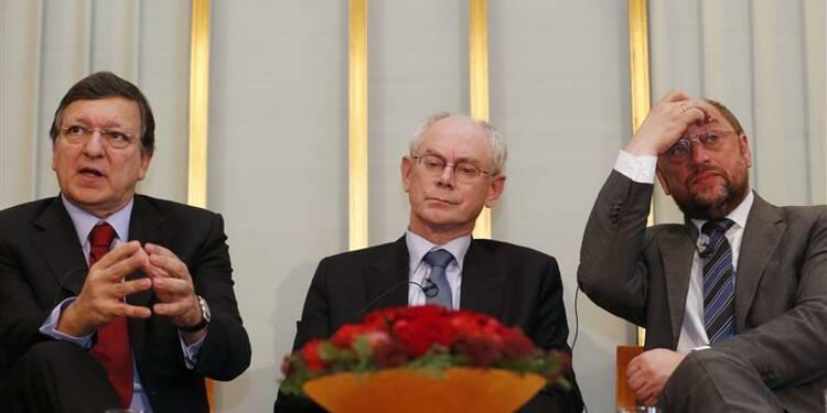 Les représentants de l'UE à Oslo pour recevoir un Nobel contesté