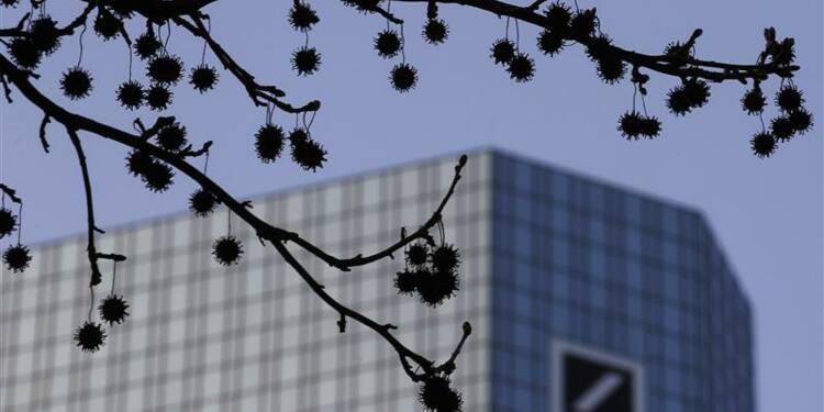 Le 4e trimestre de Deutsche Bank pâtira d'ajustements d'actifs