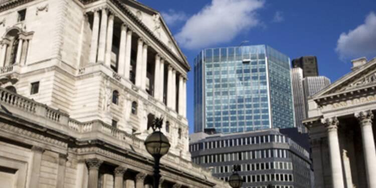 La Banque d'Angleterre ramène son principal taux directeur à 0,5%