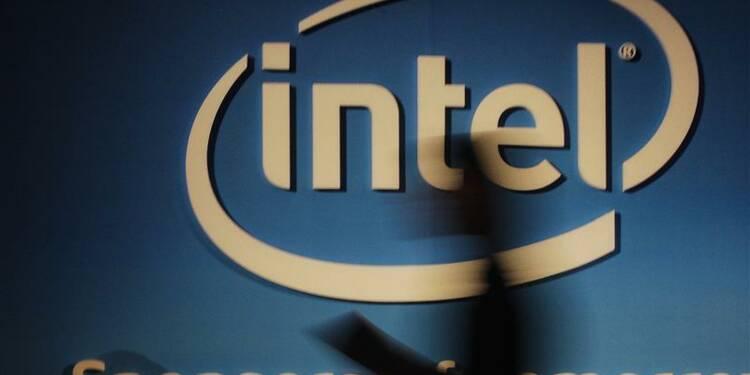 Intel publie des résultats conformes aux attentes
