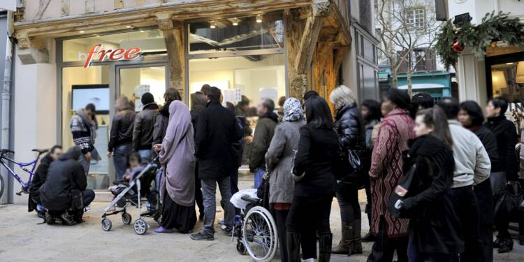 Free Mobile : 8 Français sur 10 pourraient se laisser tenter