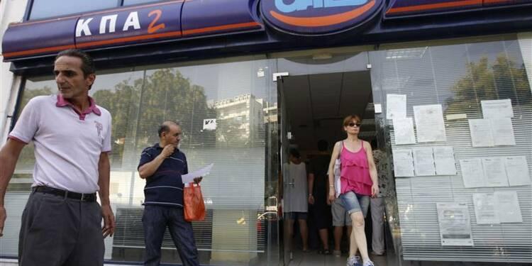 Le taux de chômage grec a atteint 26% en septembre