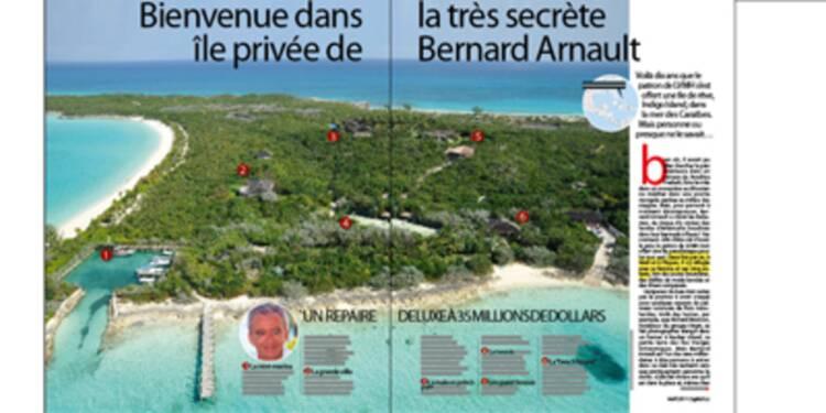 Découvrez l'île secrète de Bernard Arnault dans les Bahamas