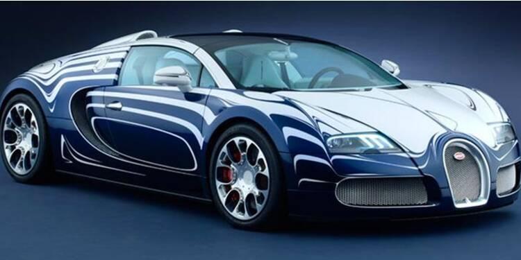Une Bugatti en porcelaine vendue 1,65 million d'euros