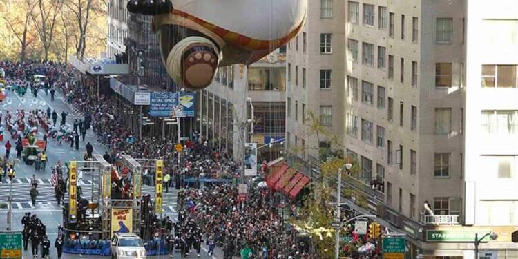 Les New-Yorkais se remontent le moral avec Thanksgiving