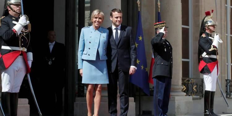 Passation de pouvoir : où s'habille le couple Macron ?