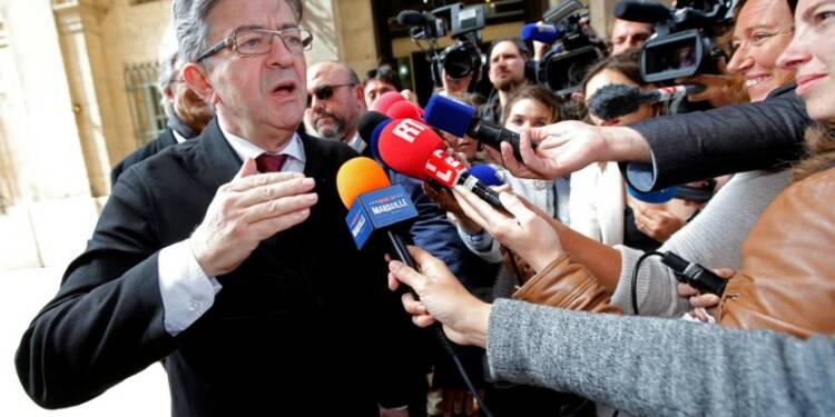 Jean-Luc Mélenchon se voit comme la seule force d'opposition à Macron