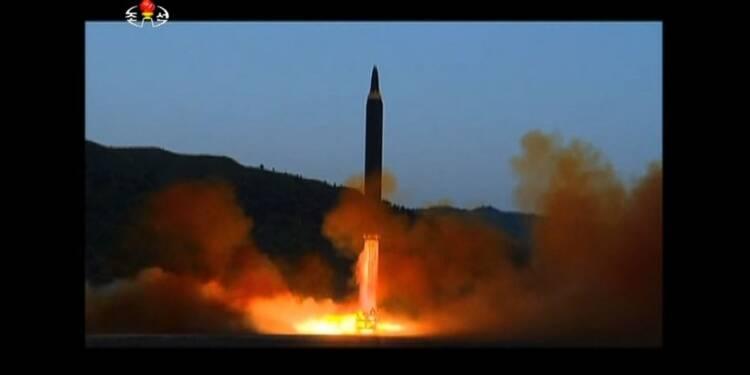 Pyongyang a testé un nouveau missile d'une portée inédite