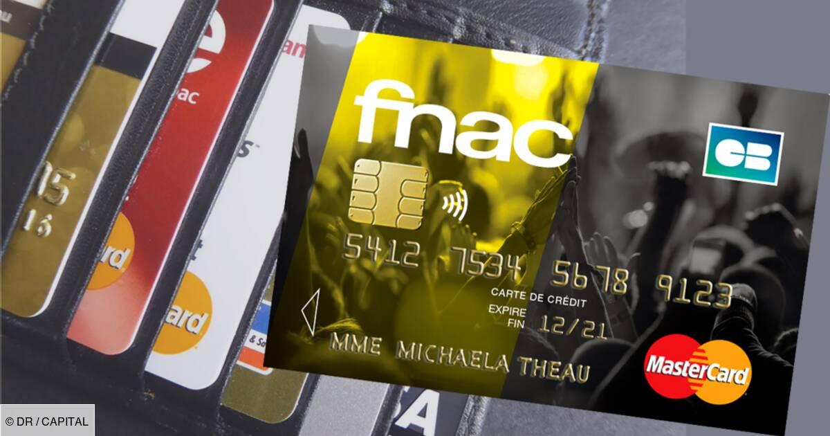 Faut Il Craquer Pour La Nouvelle Carte Bancaire De La Fnac Capital Fr