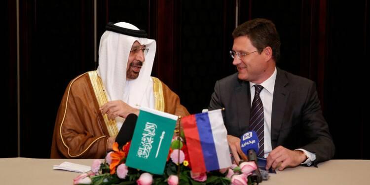 Pétrole : l'accord entre l'Arabie saoudite et la Russie fait bondir le Brent