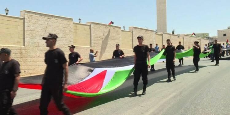 Des Palestiniens commémorent l'anniversaire de la Nakba
