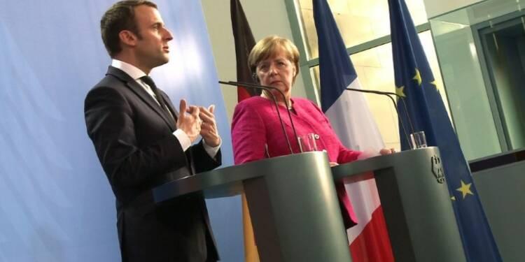 Merkel et Macron prêts à un changement des traités européens