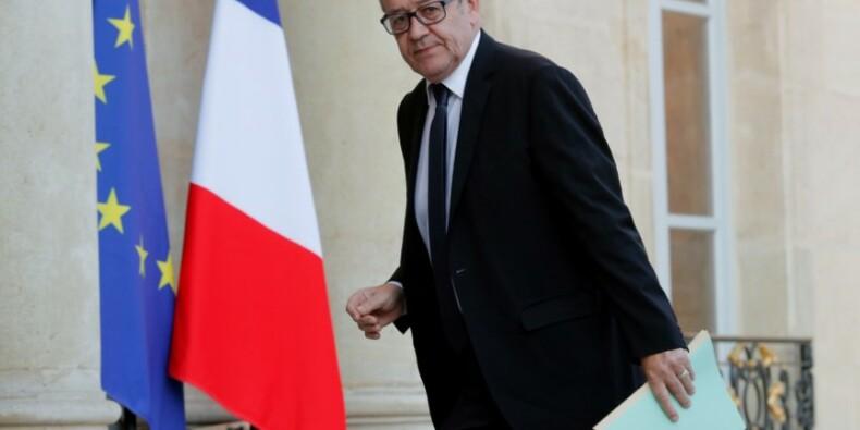 Le Drian récupère un dossier clef de Macron