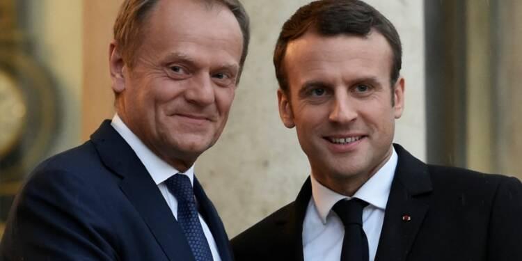 L'Europe a besoin de votre énergie, dit Tusk à Macron