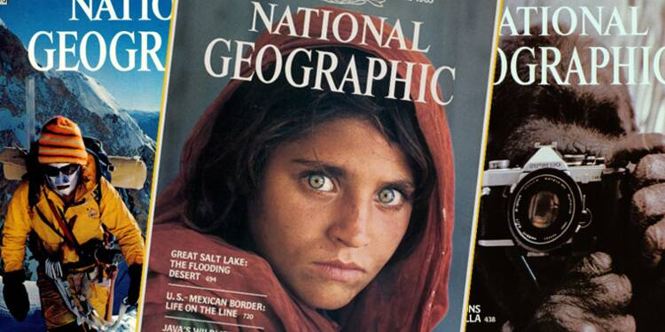 Jeune Afghane, Everest, Titanic… 13 photos qui ont fait la légende de National Geographic