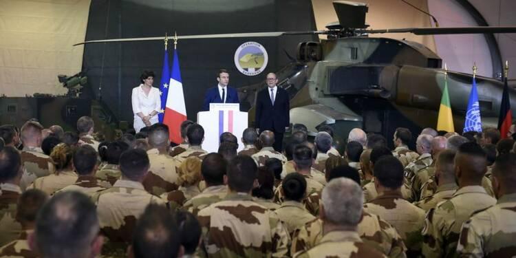"""Macron ne risquera pas les vies des soldats français """"pour rien"""""""