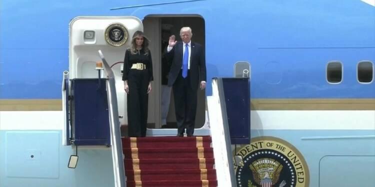 Donald Trump entame à Ryad son premier déplacement à l'étranger