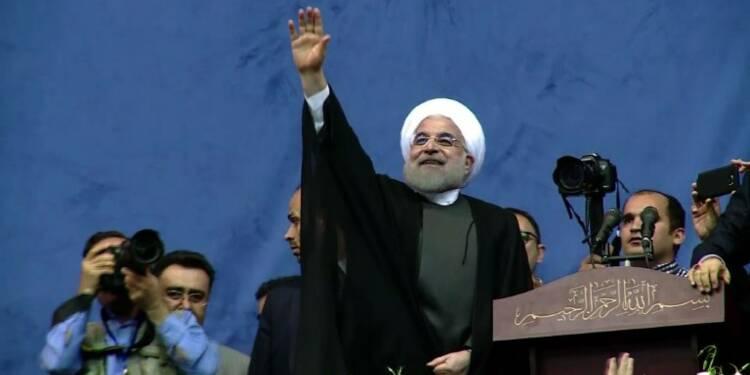 Second mandat pour le président iranien Hassan Rohani