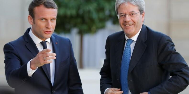 Macron et Gentiloni disent vouloir réformer l'Europe ensemble