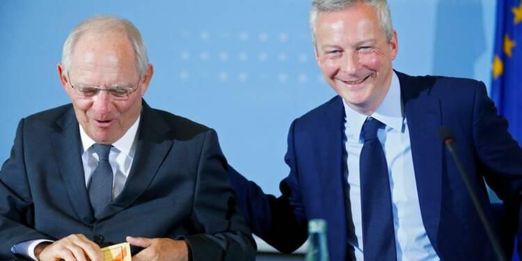 Berlin et Paris veulent aller vite pour renforcer la zone euro