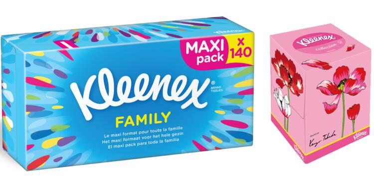 La saga Kleenex : du démaquillant au mouchoir jetable