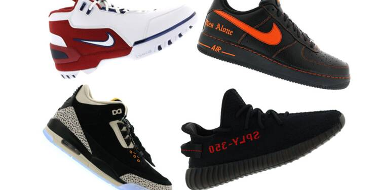arriving pick up new appearance Air Jordan, Adidas Yeezy Boost… ces sneakers qui atteignent ...