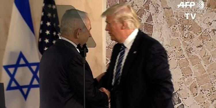 Trump appelle Israéliens et Palestiniens au compromis