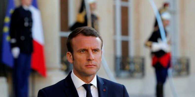 Première rencontre avec Trump pour Macron