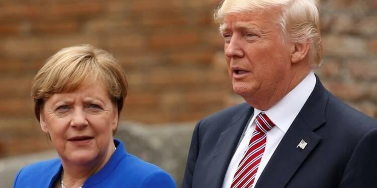 """""""Débat polémique"""" au G7 sur le changement climatique, dit Merkel"""