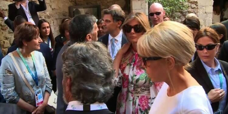 G7 : Les Premières dames visitent Taormina en Italie