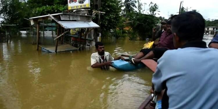 Inondations au Sri Lanka: 146 morts, 500.000 déplacés