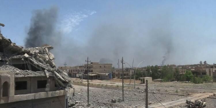Les forces irakiennes progressent dans Mossoul-ouest face à l'EI