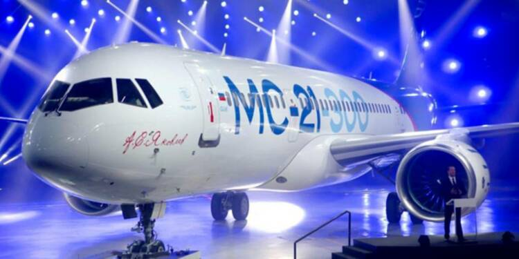 MC-21 : le futur concurrent russe d'Airbus et Boeing prend son envol
