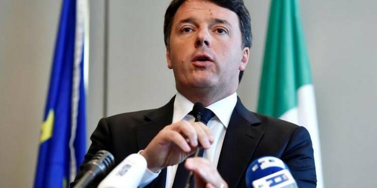 Renzi pour synchroniser les élections en Italie et en Allemagne
