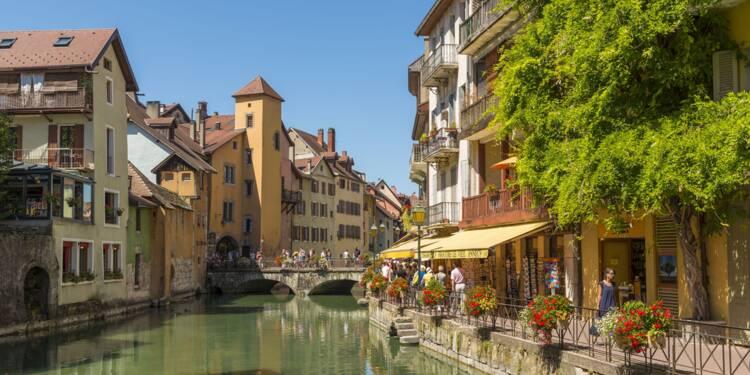 Immobilier : les prix décollent à Annecy, Lyon, Grenoble ou Saint-Etienne...