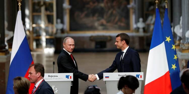 Macron et Poutine d'accord pour un sommet sur l'Ukraine