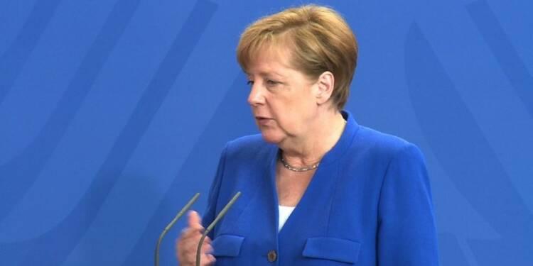 Merkel appelle l'Europe à devenir un