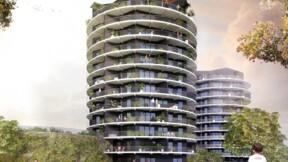 La tour Panorama, symbole d'un nouveau quartier à Rennes