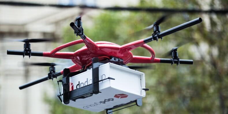 Livraison par drone : la Poste bat Amazon !