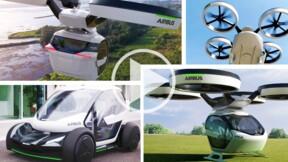 Pop.Up : la voiture volante d'Airbus a fait sensation au Salon de l'auto de Genève
