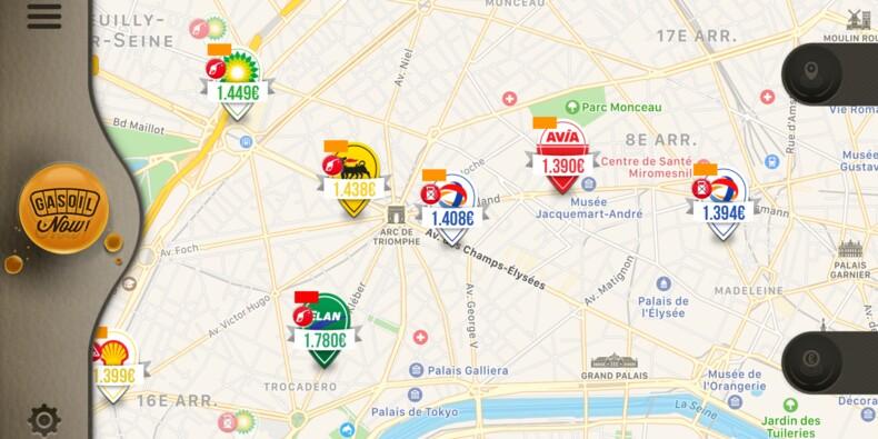Pénurie d'essence : les applis qui vous indiquent les stations qui ont encore du carburant