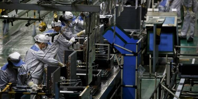 La production industrielle au plus haut depuis 2008 au Japon